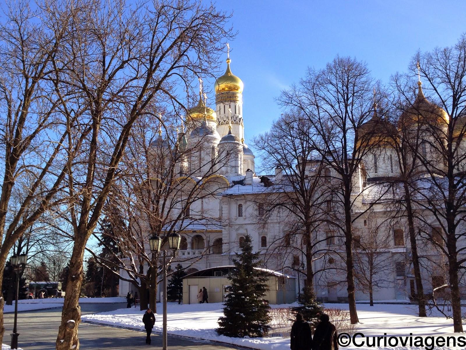Planejamento da viagem para Russia