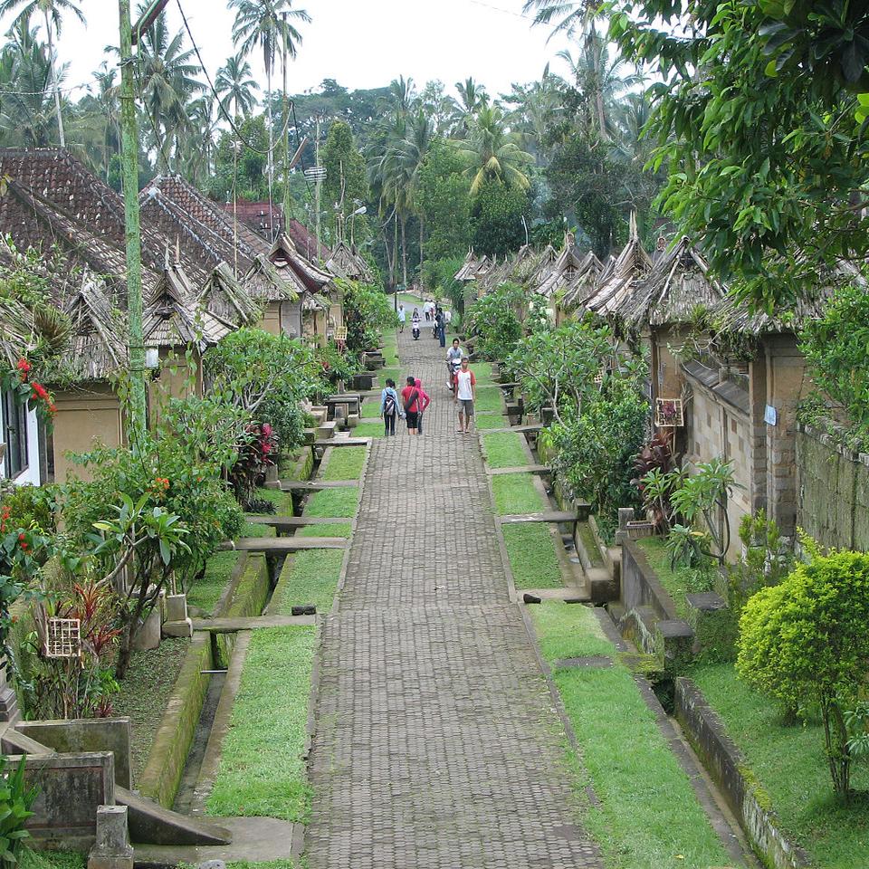 Desa Adat Penglipuran Objek Wisata Budaya Menarik Di Bali