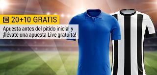 bwin promocion 10 euros Cruzeiro vs Botafogo 6 agosto