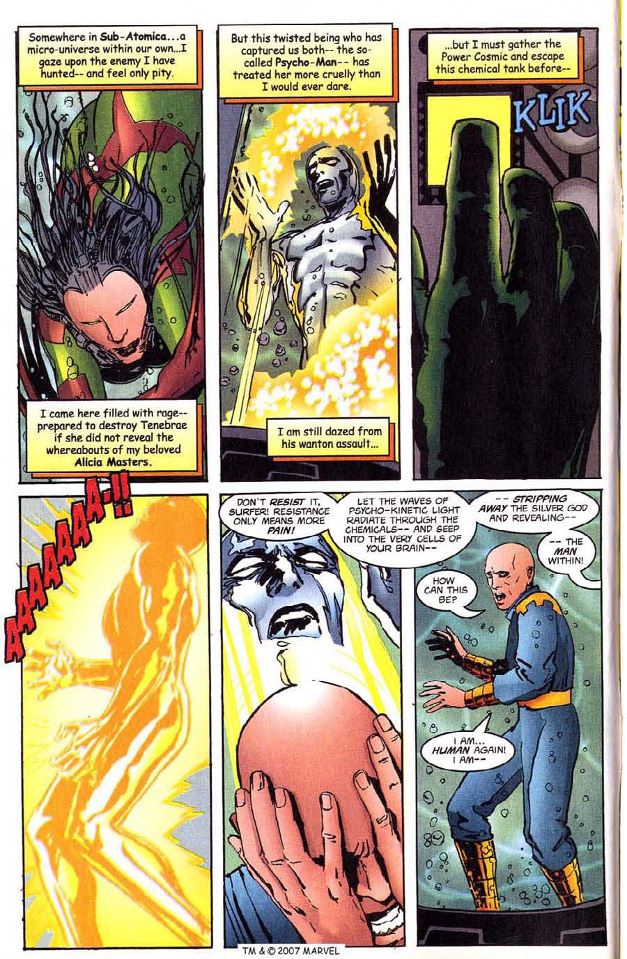 Read online Silver Surfer (1987) comic -  Issue #144 - 6