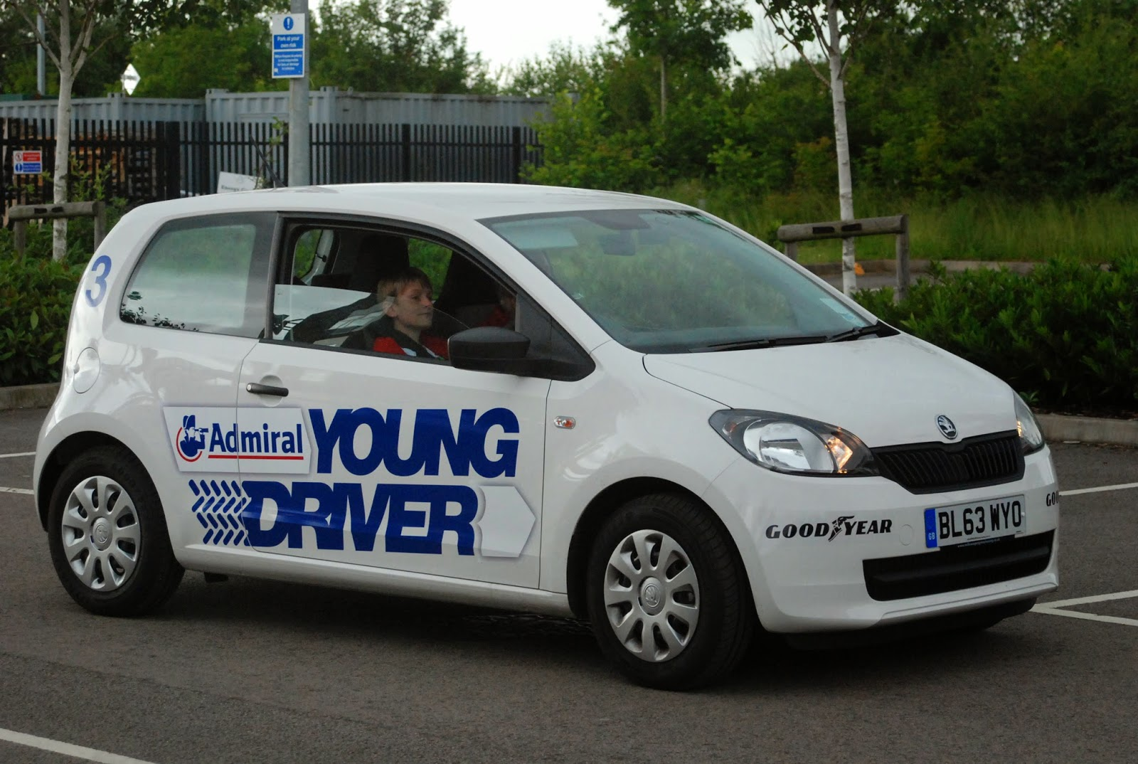 junior driving lesson, Milton Keynes