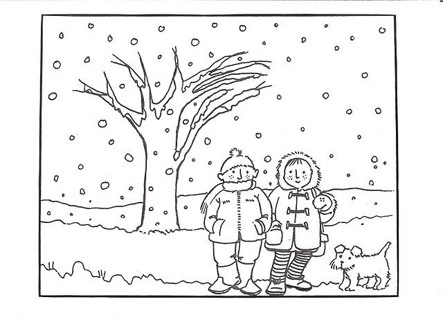 MIS COSAS DE MAESTRA*: Fichas para trabajar el invierno