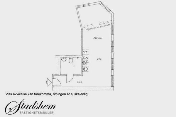 Projeto do apartamento sueco