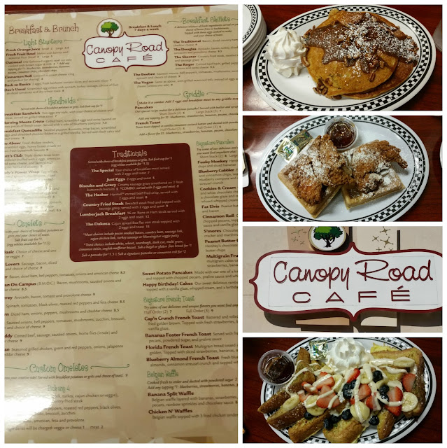 Canopy Road Restaurant Tallahassee Florida Breakfast Chicken and Waffles