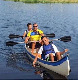 Canoagem na Lagoa do Parque Candapuí reuniu  cerca de 40 atletas e consolidou novo espaço esportivo na Ilha