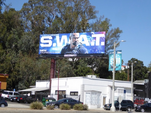 SWAT 2017 series billboard