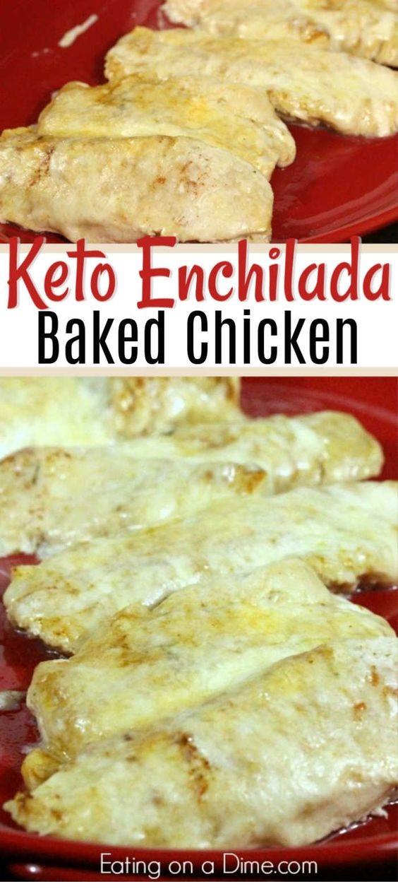 Easy Baked Enchilada Chicken