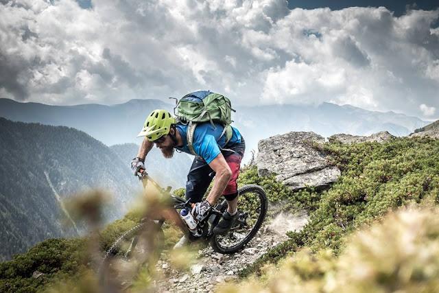 Trail Mountainbike Abfahrt Cuneo Bagni MTB
