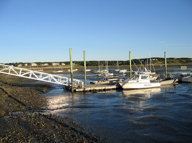 Wellfleet Marina, Low Tide, Sept 2012