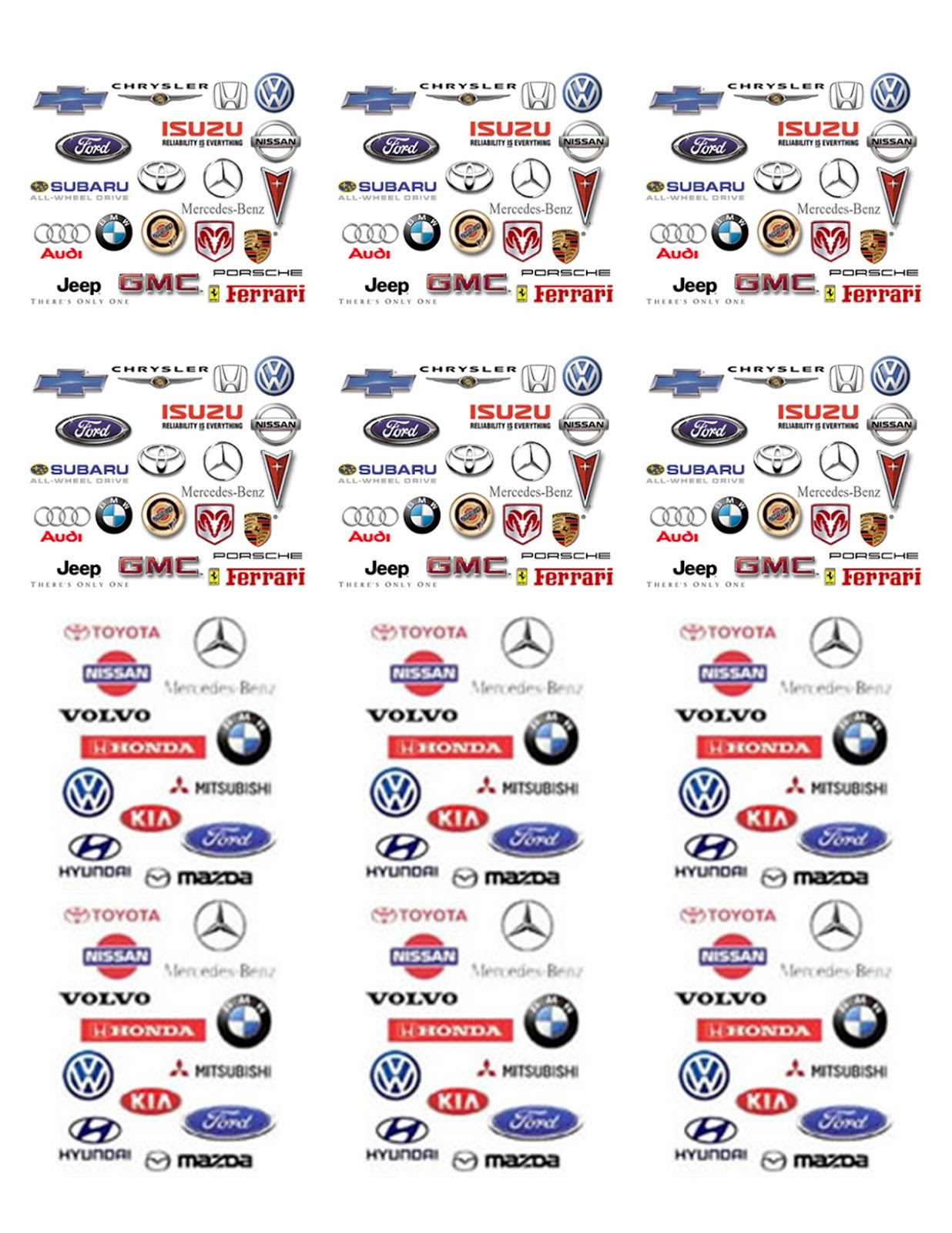 Best Car Logos: Car brands