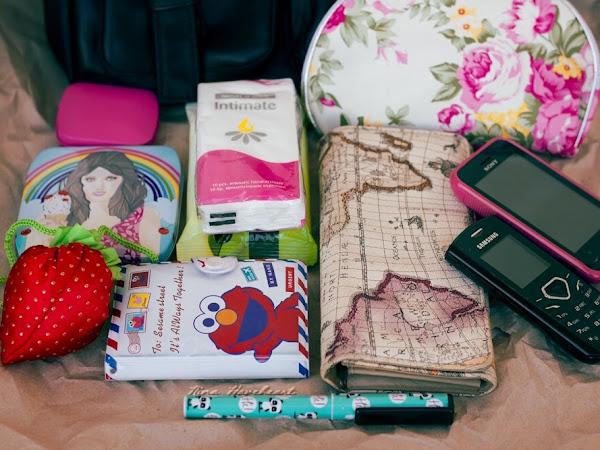 Какво има в чантата ми?