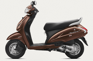 Honda Activa 3g Brown Metallic Color