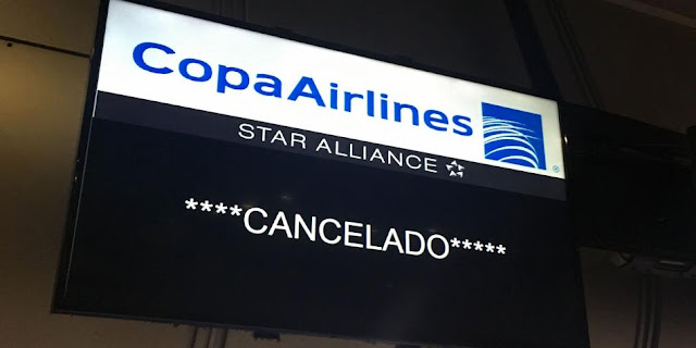 Información sobre suspensión de operaciones de Copa Airlines en Venezuela