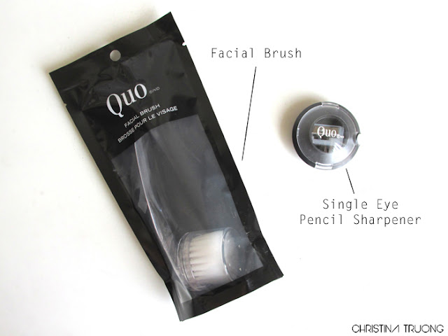 Quo Facial Brush Single Eye Pencil Sharpener Review Haul