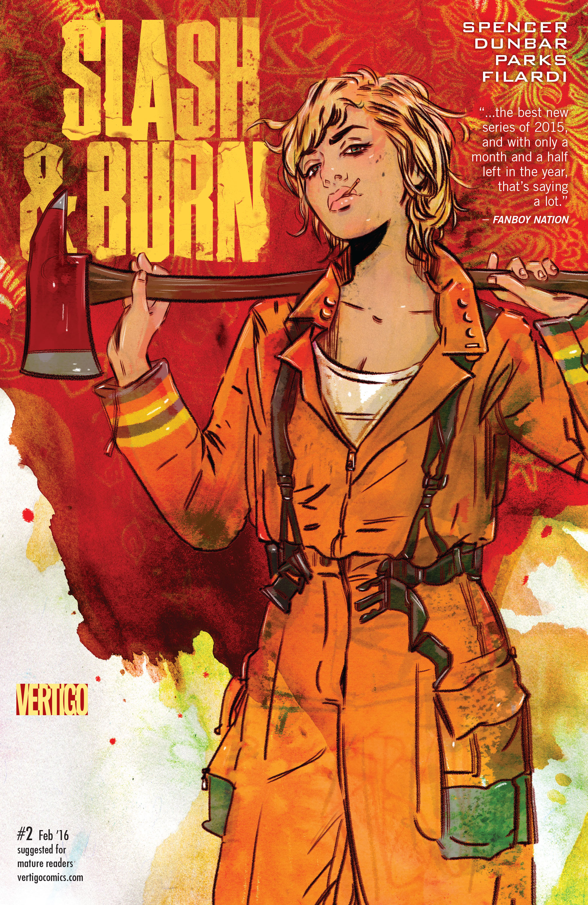 Read online Slash & Burn comic -  Issue #2 - 1