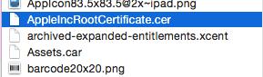 Archivo de Certificado/Key Hardcodeado en App iOS imagen