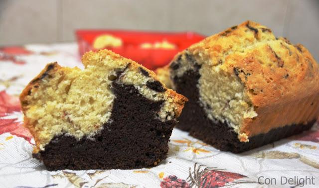 עוגת שיש טבעונית Marble cake vegan