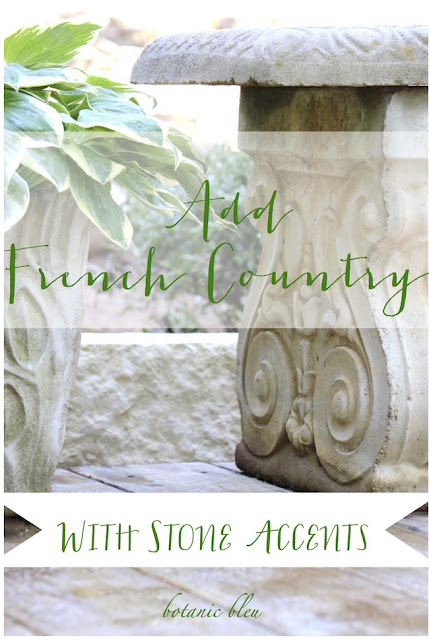 French Country Garden accents