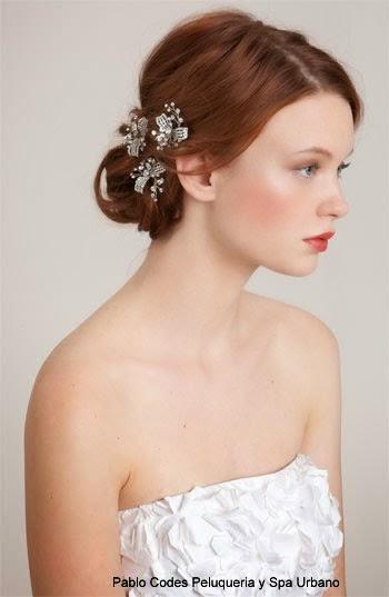 Peinados recogidos para novias 2015 elainacortez - Peinados recogidos novias ...