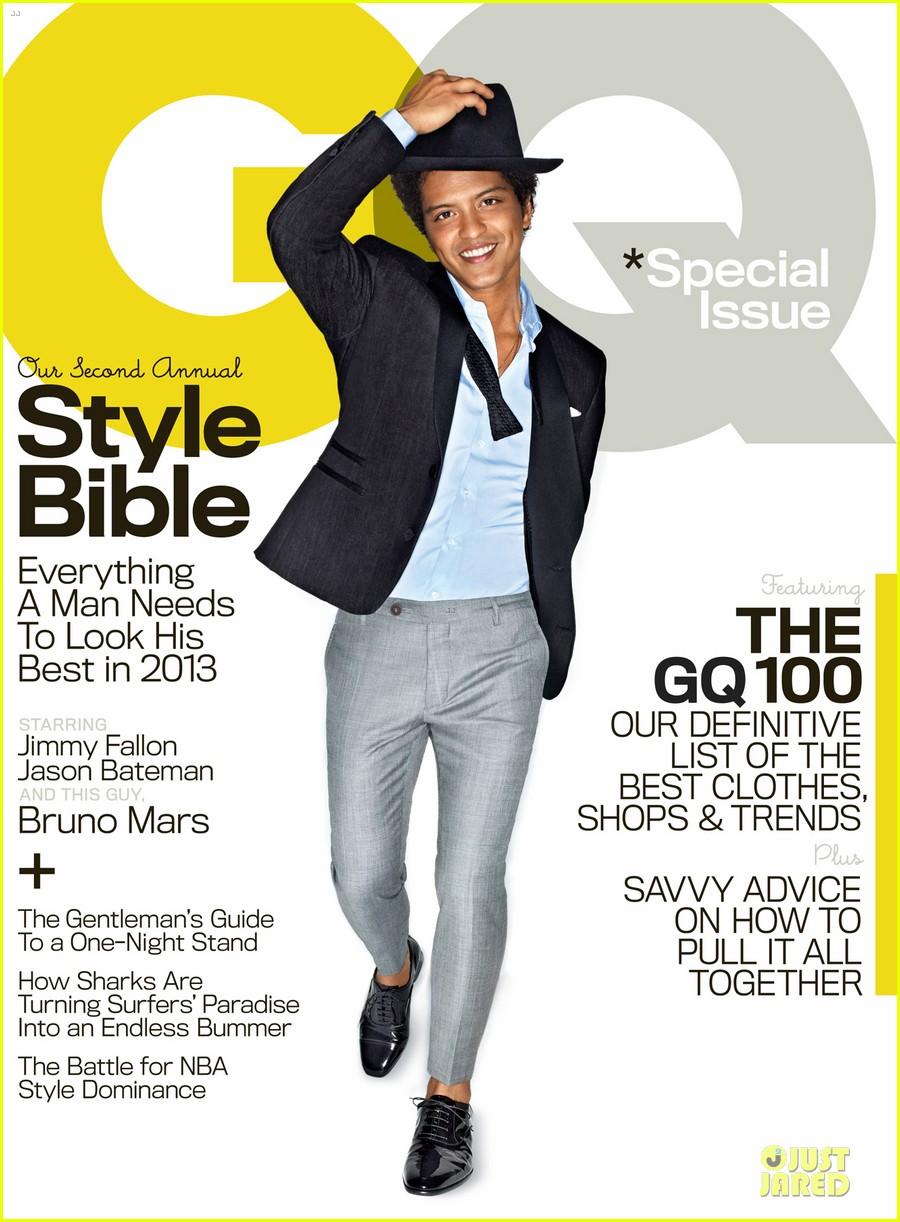 GQ Man: Bruno Mars - Fashionably Fly