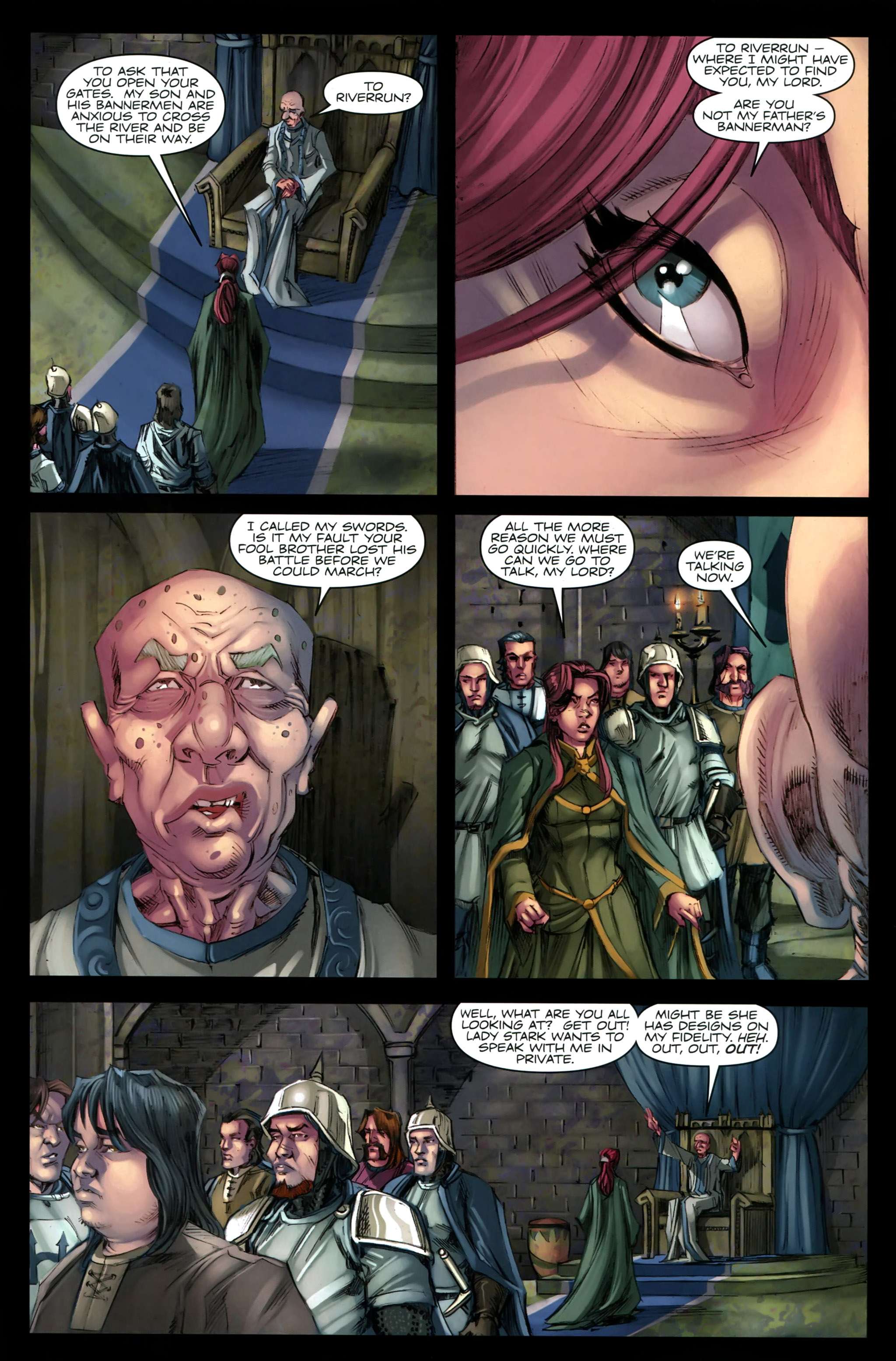 Read online A Game Of Thrones comic -  Issue #19 - 22