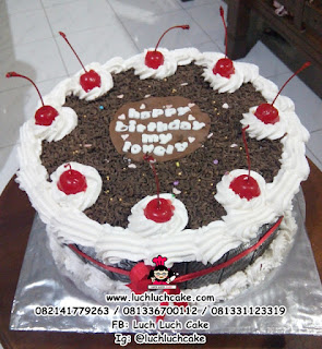 Blackforest Cake Full Chocolate