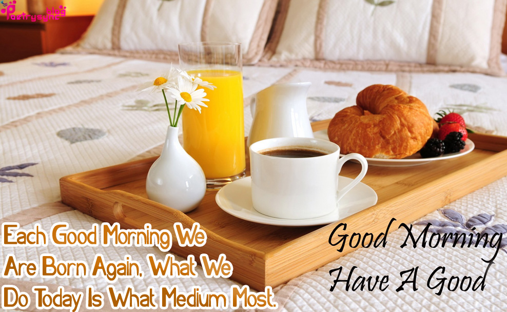 Good Morning Have A Nice Day Images For Facebook With Morning