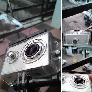 Cara Replace Lens Xiaomi Yi dengan Go Pro