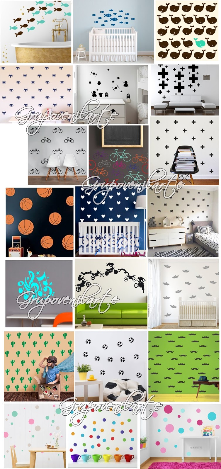 Vinilos decorativos para paredes hogar decoraci n beb s for Vinilos decorativos hogar
