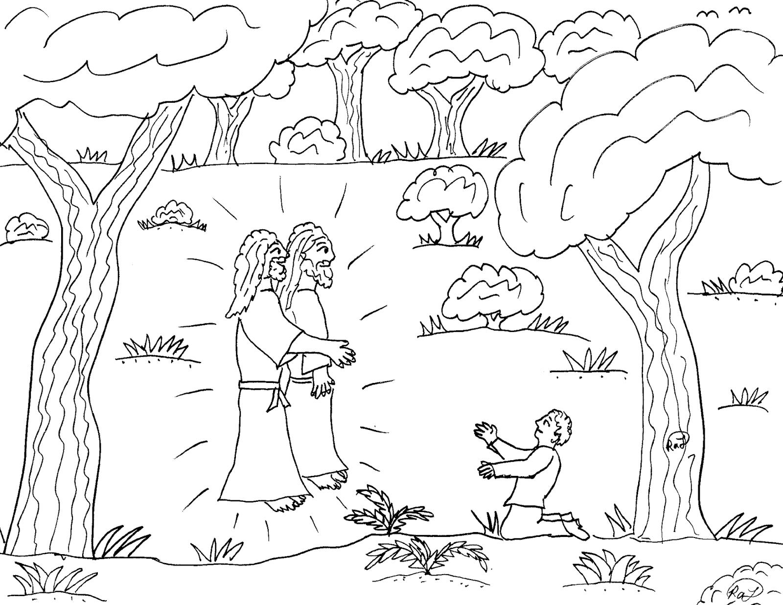 Ziemlich Joseph Smith Coloring Page First Vision Ideen - Beispiel ...