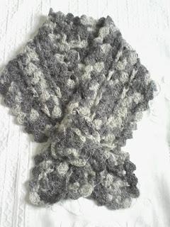 Gola de Crochê para inverno - Ponto Com Artesanatos