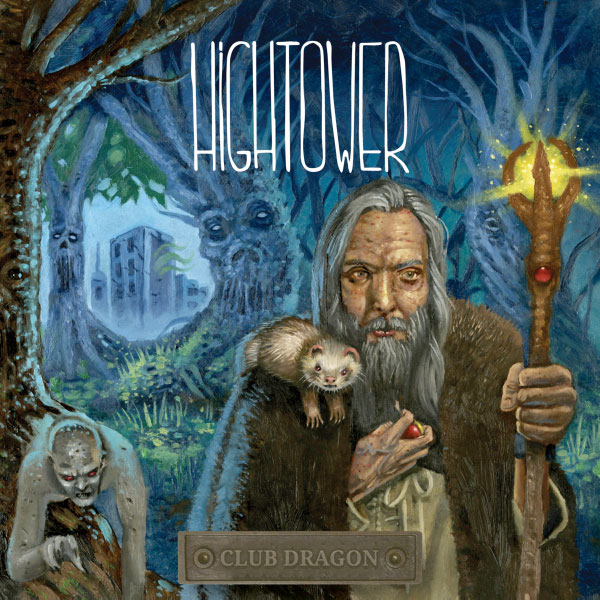 "Hightower stream new album ""Club Dragon"""