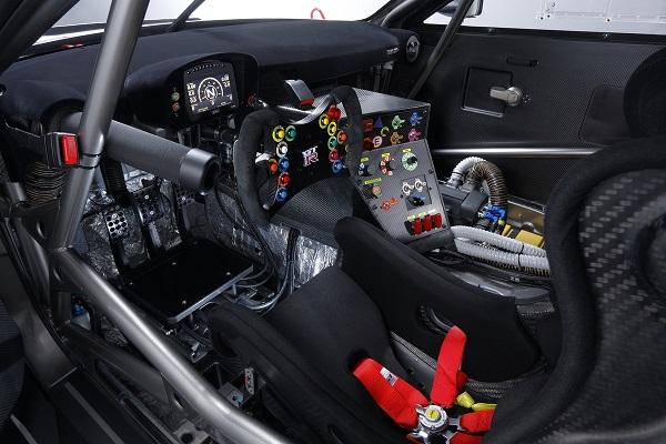Interior Nissan GT-R Nismo GT3 2019