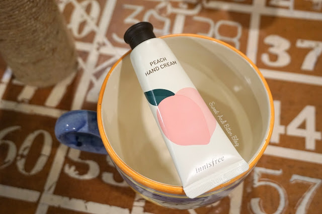 Innisfree Peach Hand Cream Review