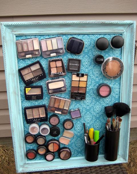 Recycler pour décorer maquillage