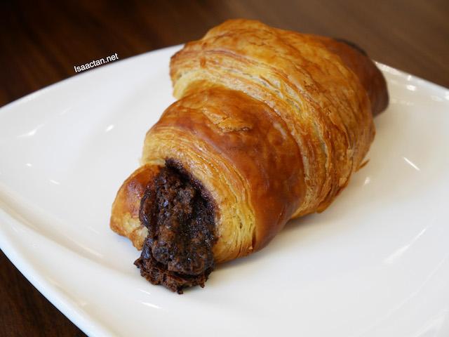 Chocolate Croissant - RM8
