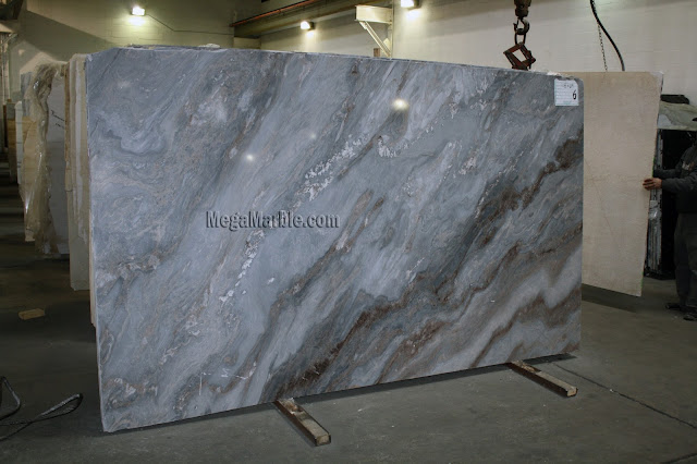 Palissandro marble slabs for countertops