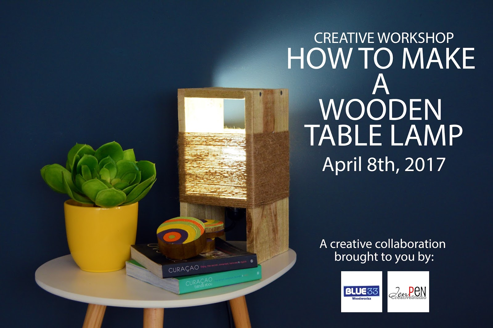 ... Is Going To Be Held On Saturday, April 8th. The Total Cost Of The  Workshop Would Be Nafl. 75, . This Will Include All The Materials To Make  The Lamp And ...