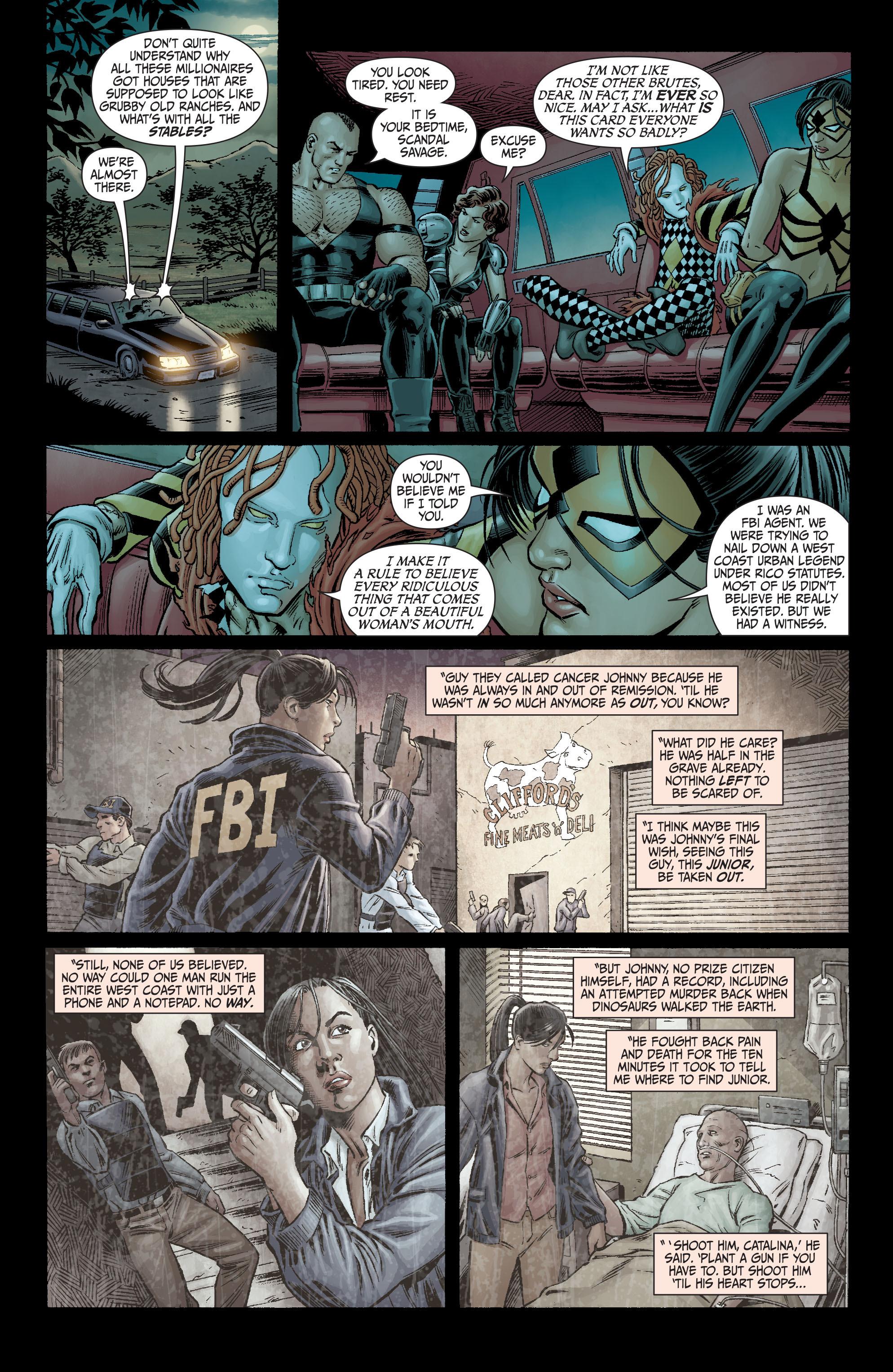 Read online Secret Six (2008) comic -  Issue #3 - 8