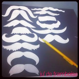 tuto moustaches