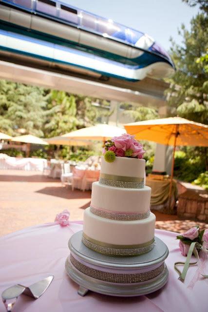 Real Disney Weddings - Brittney and Zack's Springtime Romantic Disneyland Hotel Wedding
