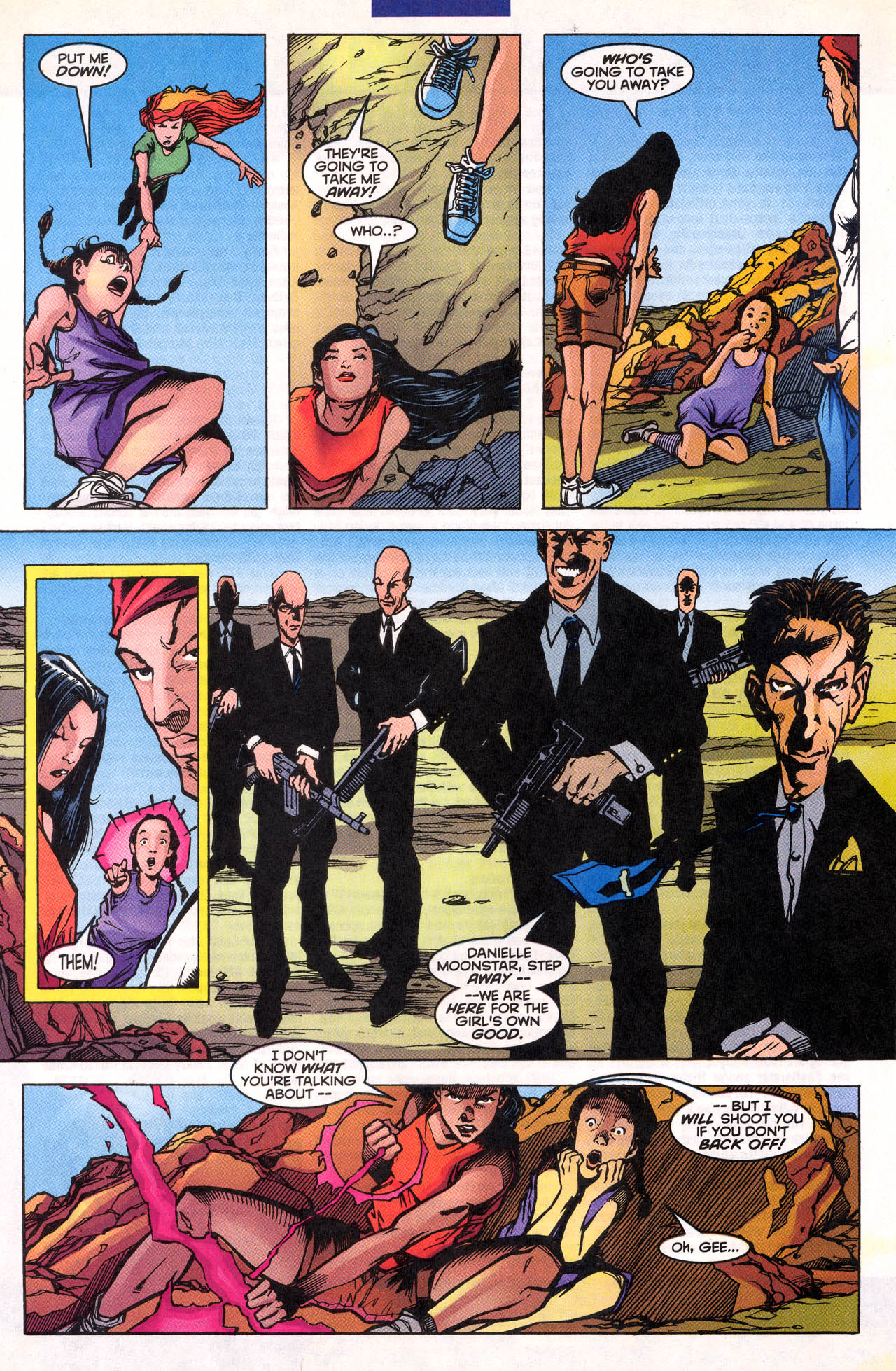 Read online X-Force (1991) comic -  Issue #77 - 23