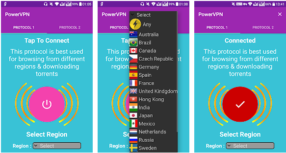 Power VPN Mod Full APK