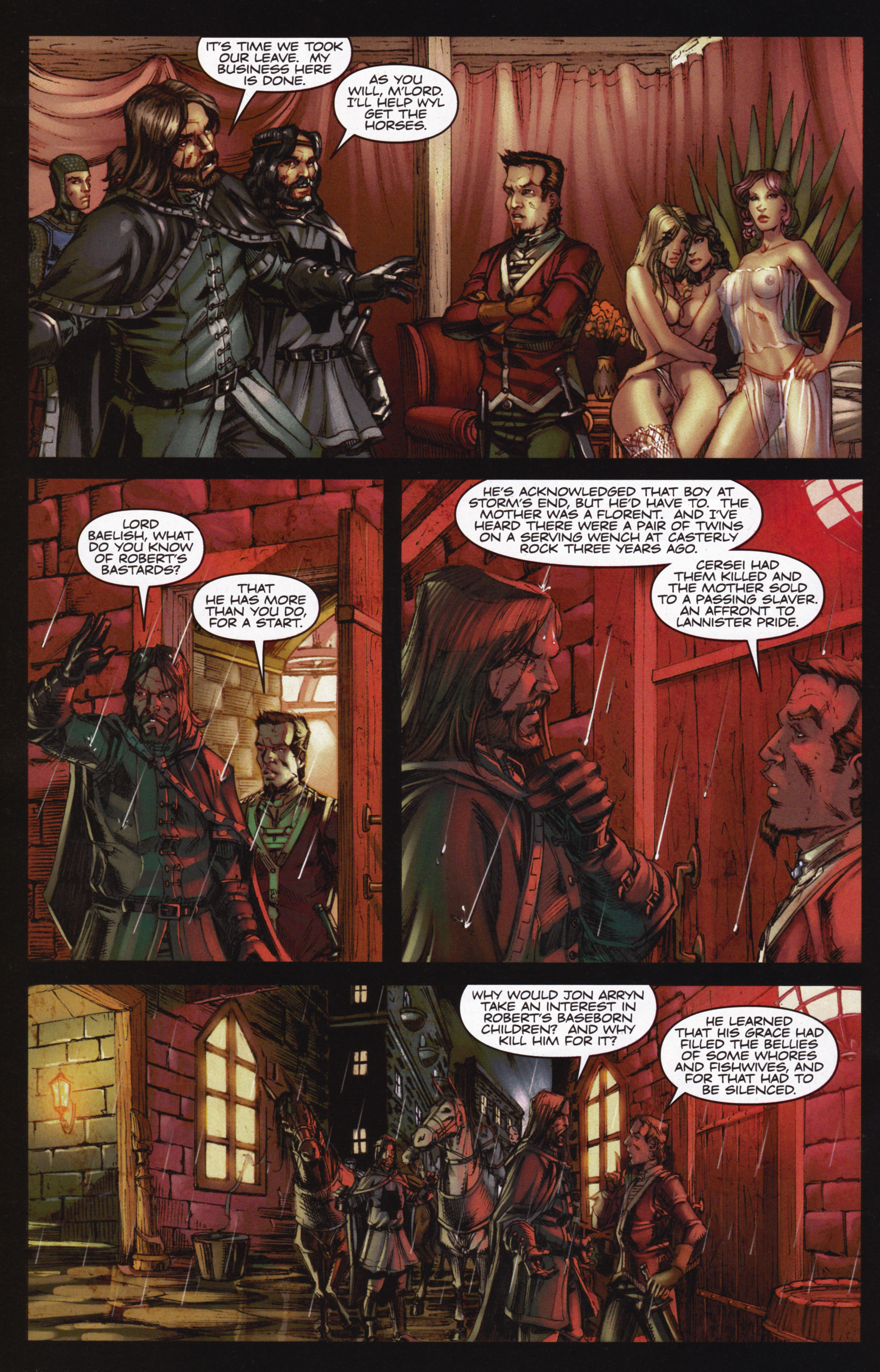 Read online A Game Of Thrones comic -  Issue #12 - 26