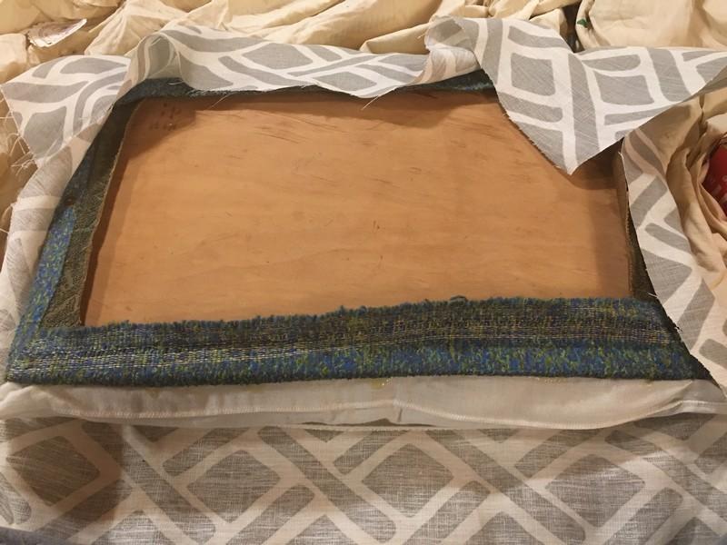 Hood Creek Log Cabin Diy No Sew Bench Seat Cushion Using A Bed