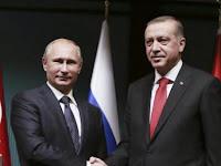 Akhirnya Erdogan Telepon Putin Terkait Tewasnya Dubes Rusia