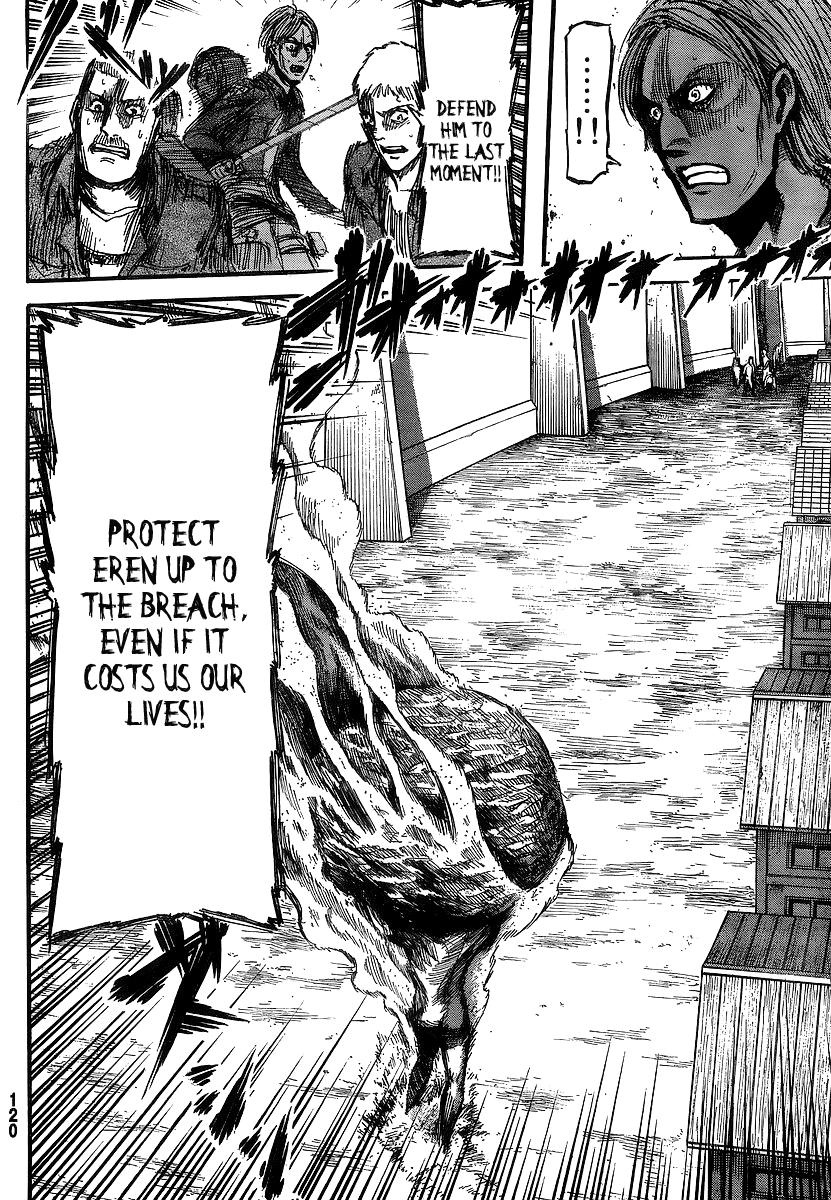 Shingeki no Kyojin Ch 14: Primordial Desire