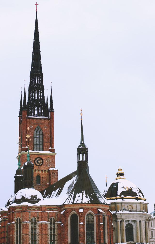 Stockholm Riddarholm Church Gamla Stan