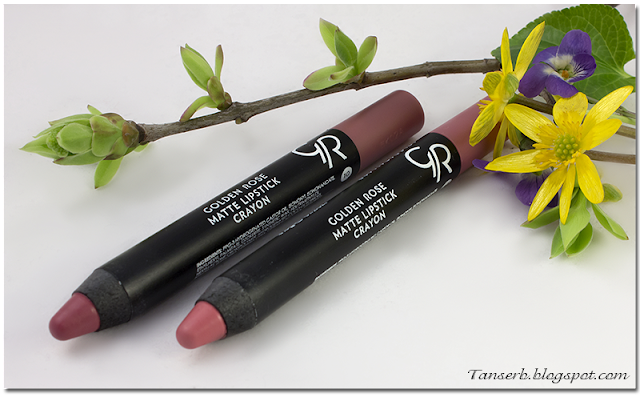 Golden Rose Matte Lipstick Crayon