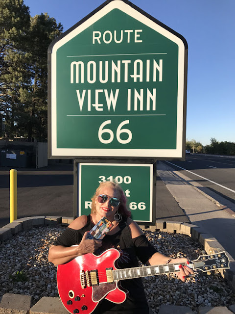 Route 66, Flagstaff, Springsteen